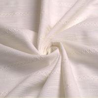 Hight quality  shirt skirt  fabric 100% Cotton Gauze Fabric  jacquard stripe 140 cm 55'' width 105 gsm  small wholesale