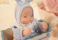 New Pink Blue Ceramic Originality Birthday Gift Rabbit Rocking Baby Music Box  home decoration