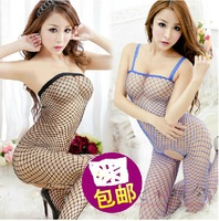 Hot sexy lingerie women wrapped chest netting sexy costumes for women sexy sleepwear women curve sexy underwear sexy set robe