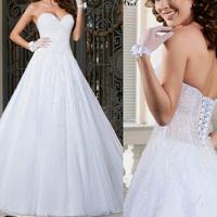 luxury Crystal ball gown wedding dresses 2014 vestido de noiva renda manga longa lace open back wedding dresses 2014 new arrival