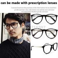 I-bright Vintage Erika 4171 Myopia Glasses Frame Men/Women Optical Eyeglasses Prescription aspheric surface lenses 1.56 1.61