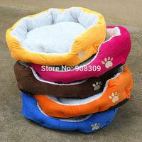 2014 HOT !7 Color High Quality Cheap Small Dog Beds Pet Beds Dog Mat Warm Winter Coral Velvet Lamb 3D PP Cotton Dog Beds