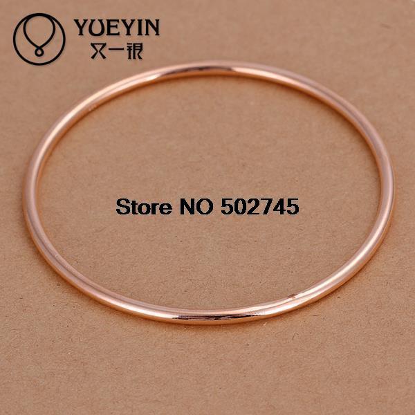 B137 SGS Test Past Latest Trendy Classic 925 sterling silver bangle 3 m lap - rose gold bracelet for men Wholesale(Hong Kong)