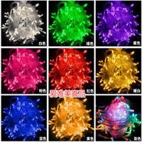 10M 100 LED string lights wedding decoration Christmas fairy light blue / green / color / white Christmas 220V EU plug