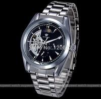 2014 OYW Women Men's full steel Watch Hand Wind Wrist Watch Self Wind AutomaticMechanical Business Casual Wristwatch Relogios