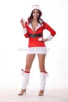 Hot sell !!christmas costumes,Santa dress YNM8653