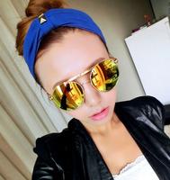 Fashion Sunglasses Women Brand Designer Sun Glasses Clubmaster Gafas De Sol Women Cat Eye Vintage Oculos De Sol Feminino 1052