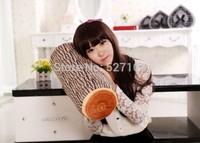 Hot Selling !!Wood Grain print Tree design Pillows Column MicroBeads Tube Cushion Neck Pillows 32*15 2pcs Free Shipping