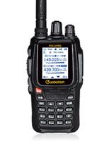 WOUXUN Handheld Amateur Radio Two Way Radio Waterproof  KG-UV8D 136-174&400-520MHz