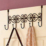 Wrought iron hook behind the door hook creative non-trace hook Strong easy hanging hook hanger benchs free(China (Mainland))