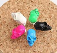 ES174 Fashion Special spike're Beautiful ah Li Hongji skull Stud earrings favorite female Jewelry
