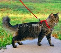 Pet Cat Lead Harness Rabbit collar Cat Leash Cat I-shaped High Quality Harness length1.2m*width1cm