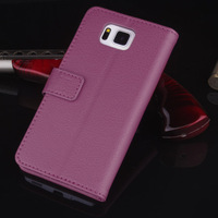 G850F Case, Wallet Leather Case For Samsung Galaxy Alpha G850F, Luxury Wallet Stand with Credit card holders, 50pcs