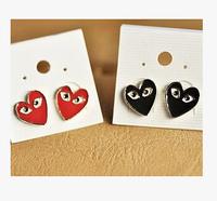 ES173 Korean version of the new fashion wild sweet love Stud earrings mini female