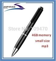 wireless Pinhole  Mini pen voice recorder  activated pen voice recorder
