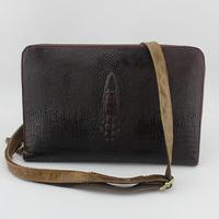 100% Cowhide leather men hand bags vintage Shoulder men's Messenger bags IPAD bag crocodile leather men business bag 2015 NEW