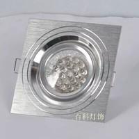 Free shipping Factory direct sale: LED spotlight/ceiling light /upset aluminum lamp/high quality lamp, light  hole