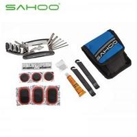 SAHOO Bicycle Tire Repair Kits repair mutifunction tool,red,black,blue MADE IN TAIWAN