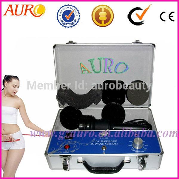 Grátis frete 100% de garantia M-A868B portátil profissional G5 elétrica celulite Body Massager máquina com 5 alças(China (Mainland))