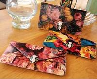 2014 New Korean Retro Fashion Big Envelope Printing Leather Shoulder Bag Lady Handbag Small Bag