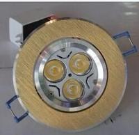 Free shipping Aluminum wafer chip thickening car LED spotlight  Gao Liangtian lanterns 3 w high power LED light ceiling lamp