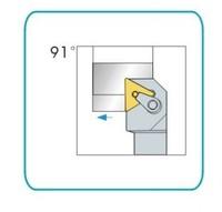 91Deg,20x20mm Shank MTGNR2020K16 CNC Lathe External Tool Holder,for TNMG1604 Insert  free shipping to all countries