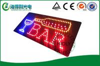 LED mini sign /LED bar club sign/24*48cm high brightness electronic signboard