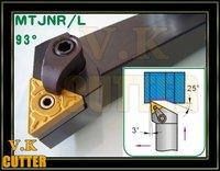 93Deg,32x32mm Shank MTJNR3232P16 CNC Lathe External Tool Holder,for TNMG1604 Insert  free shipping to all countries