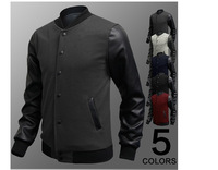 Hotselling!!! Free Shipping Fashion Long Sleeve Man Jackets  with 5 Colors Fashion New Style Men's Hoodies for 4 seasons  1pc