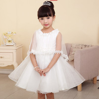 Wholesale High quality Flower girl dresses for wedding party children dresses party dress free shipping 6pcs/lot E-013