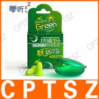 Zero Zone Memory Foam Earplugs anti-noise sleeping earplugs Smart Green Large 1pair