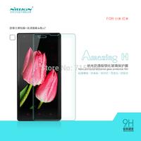 Free shipping 5pcs NILLKIN Amazing H Nanometer Anti-Explosion Glass Screen Protectors for xiaomi Redmi