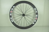 Full Carbon Road bike wheels , Carbon De rosa 888 Wheel Clincher , Carbon 50MM De rosa wheelset Free shipping !