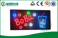 2014 new electronic product wholesale 9*19 inch high brightness LED arcylic sign /LED open sign