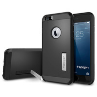 New SLIM TOUGH ARMOR SPIGEN SGP Case For Apple iPhone 6 Plus 5.5'' With Stand Hard Back Cover TPU Plastic Cases For iPhone6 Plus