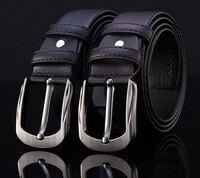 men's genuine leather belt lesure style real leather belts men Classic leather fashion men grain belt tide leisure belt