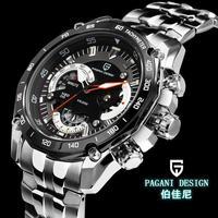 2014 New arrival Pagani Design CX-0001 Luxury brand quartz watches men multifunction waterproof watches