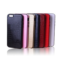 4.7 inch Crocodile grain durable protective shockproof mobile phone cover for Iphone 6