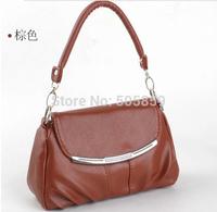 2014 summer new Korean fashion pu handbags small bag of candy-colored casual laptop shoulder bag