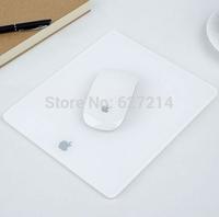 Acrylic Plexiglass Matte Surface Glass Mouse Pad Mat Design For Apple MackBook & Mice & Keyboards