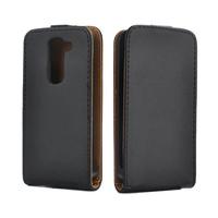 Black Leather Case Flip Cover For LG G2 MINI D618 D620 Phone Cases Top Open Style Magnetic Vertical Flip Back Skin Case Cover