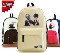 Tokyo Ghouls 8 styles Ken Kaneki mask Anime Backpacks Large size Canvas Japanese School Students Book Bag