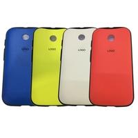 100% Original Grip Shell for Motorola Moto E XT1021 XT1022 XT1025 Phone Bags Cases Battery Housing Door Anti-Shock Case Cover