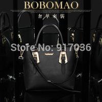 2014 new fashion female luxury handbags leather shoulder bag trend