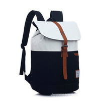 Canvas computer bag fashion women backpack leisure school bags sports travel bags