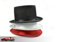 G1296-(minimum order $10) magic props manufacturers wholesale sales - Magic high hat (black)