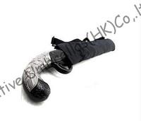 Pistol plastic handle,gun umbrella,100%sunscreen,UPF>40+,parasol,foldable parasol,two fold cherry