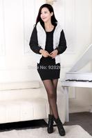 Fashion 2014 Korean Version New Fall And Winter Women Short Down Jacket Padded Polka Dot Jacket C-WJ1521