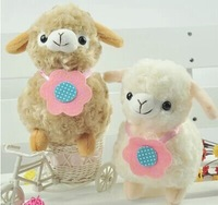 Children Baby plush toys cute plush stuffed doll colorful alpaca gift 20 cm free shipping and direct shipping