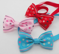 PROMOTION SALE lovely pet bow tie  ,many design mix New Dog Cat Pet Collar Accessory Bow Tie Necktie with free shipping